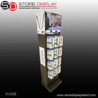 bespoke 2 sides hanging display stand with peg hooks Manufactures