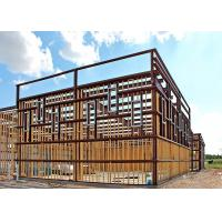 Prefabricated Steel Light Gauge Steel Structures Multiple Wall Panel Color Manufactures