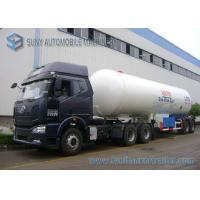 40500L 17T LPG Semi Trailer Cooking Gas 2 Axle LPG Tank Container Manufactures