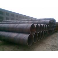 Q235 Mild Steel Carbon Spiral Welded Steel Pipe / ASTM A53 Oil Casing Tubing Manufactures