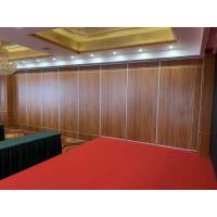 China Banquet Hall Movable Partition Walls Aluminium Alloy And MDF Board Material on sale