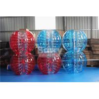 China 1.2 M 1.5m 1.8m Size PVC TPU Bubble Ball For Outdoor Play Sport Soccer Game on sale