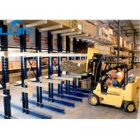 Adjustable Industrial Storage Rack , Double Sided cantilever shelving for flagstaff storage