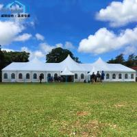Quality High Peak Mixed Custom Made Tents UV Resistant Outdoor Wedding Party Use for sale