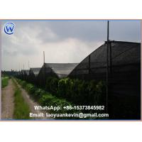 Hot selling 5 years HDPE Black Sun Shade Net with Good Quality Manufactures