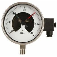 Stainless steel electric contact pressure gauge Manufactures