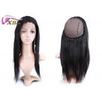 Adjustable 360 Human Hair Lace Front Wigs With Cap Medium Size , 150% Density Manufactures