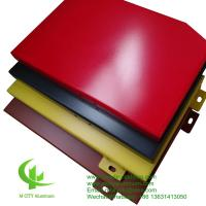 3mm  Aluminium Panel Sheet 1.5 - 10mm Thickness Fence / Facade Decoration