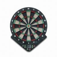 China Electronic Dart Board, Made of Plastic, Available with Game Instructions and Manual on sale