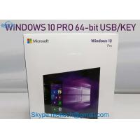 MS Windows 10 Pro Retail Box Key Card & DVD Media for Windows Operating Software Manufactures