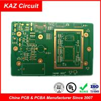 FR4 1oz ENIG  Electronic Printed Circuit Board Pcb 10 Layers 3.0mm Manufactures