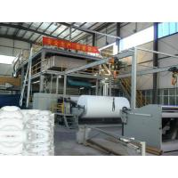 Slot Style Double Ss PP Non Woven Fabric Making Machine 3200mm , Non Woven equipment Manufactures