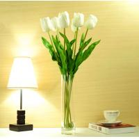 China Artificial Manmade Home Decorative Best Quality PU Material Real Touch Tulip on sale