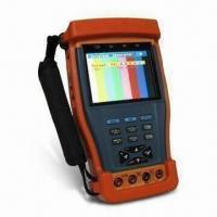 CCTV Tester with 3.5-inch TFT Screen, Supports 12V DC Power to Camera/Multi-meter/UTP Cable Testing  Manufactures