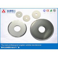 Slot Cemented Tungsten Carbide Saw Blade , Carbide Rotary Cutter Fine Grain Size Manufactures