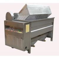 380v Automatic Discharging Food Frying Machine For Potato Chips / Fish Fryer Manufactures