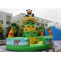 China Commercial Grade Inflatable Rock Climbing Wall / Monkey Jungle Inflatable Climbing Tower For Children on sale