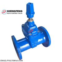 DIN DN100 Non rising Stem EPDM disc ductile iron F5 Gate Valve Manufactures