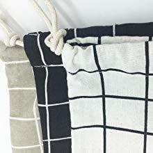 cotton linen storage pouch