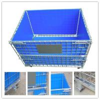 Hot sale metal wire mesh container pallet,collapsible wire mesh Manufactures