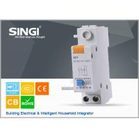 Singi GNM MX AC220V DC24V auxiliary + shunt assemble mcb circuit breakers Manufactures