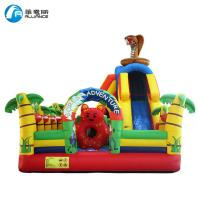 Kids Outdoor Inflatable Bouncer Inflatable Forest Adventure Pattern Commercial Grade Manufactures