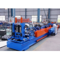 China Thickness 1 . 5 - 3 . 0mm Cutter Cr12Mov CZ Purlin Roll Forming Machine on sale