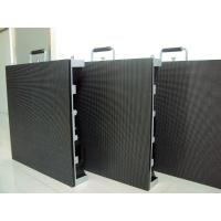 P3 Poster Light Box Displays , Outdoor Full Color LED Screen Video Wall 192x192mm Module Manufactures