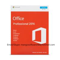 English Professional Office 2016 Retail Box PKC FPP Origianl Key