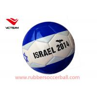 Country Flag Custom Size 5 Soccer Ball with Rubber bladder 21.8 - 22.6 CM Manufactures