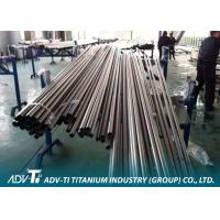 CP Alloy Welding Titanium Pipe ASTM B337 for Condensor Application Manufactures