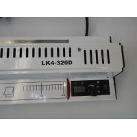 Easy Operate Pouch Laminating Machine White Full Metal Laminating Width 320MM Manufactures