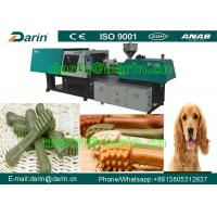 Automatic Dog Snacks Injection Molding Pet Chews Machine / nutual dog food machinery Manufactures
