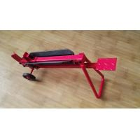 Red Portable Foot Operated Log Splitter 0.5 Ton Max Force 450mm Log Size