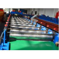 18 stations Glazed Tile Roll Forming Machine / Roof Panel Roll Forming Machine 5.5KW Manufactures