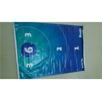 Waterproof 510gsm Glossy / Matee PVC Vinyl Banners With Grommets Manufactures