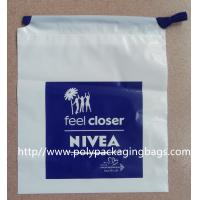 China Colorful CPE / LDPE Plastic Printed Drawstring Bags For Toys / Gift on sale