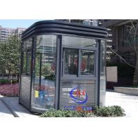 Insulation Luxury Community Guard House With Working Desk / Light Equipped Complete Manufactures