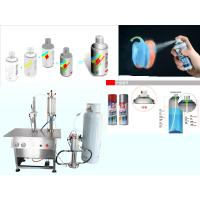 China Chrome Plating Spray Paint Filling Machine Pneumatic Drive High Speed on sale