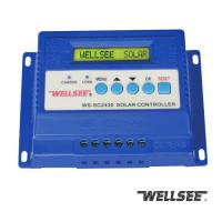 China WELLSEE solar charge regulator WS-SC2430 30A,three stage charge controller on sale
