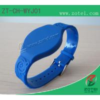 RFID Soft PVC wristband tag (Watch Band Clasps) Manufactures