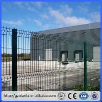 ISO/CE certificated galvanized and PVC coated Welded Wire Mesh Fence(Guangzhou Factory) Manufactures
