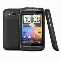 Wildfire S cellphone, Google Android OS, CPU 600 MHz ARM 11 Manufactures