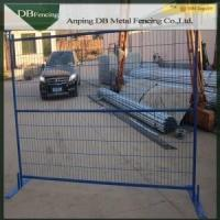 Multi Colored Temporary Yard Fence / Building Site Fencing Canada Standard Manufactures