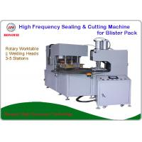 Buy cheap 380V/50 Hz Double Head Welding Machine For Sealing And Cutting Blister Pack from wholesalers
