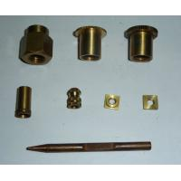 Copper alloy material cnc machine parts no broken on the surface Manufactures