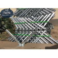 Galvanized Outside Barbed Wire Fence Post Diameter 500mm Razor Wire Brackets Manufactures
