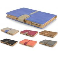 China Buckle Suede PU Leather Smart Protective Case For IPad Air on sale