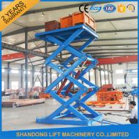 3T 5M Stationary Hydraulic Scissor Lift Manufactures
