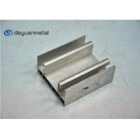 Thickness 1.6mm Aluminium Extrusion Profile , Aluminum Window Frame Extrusions Manufactures
